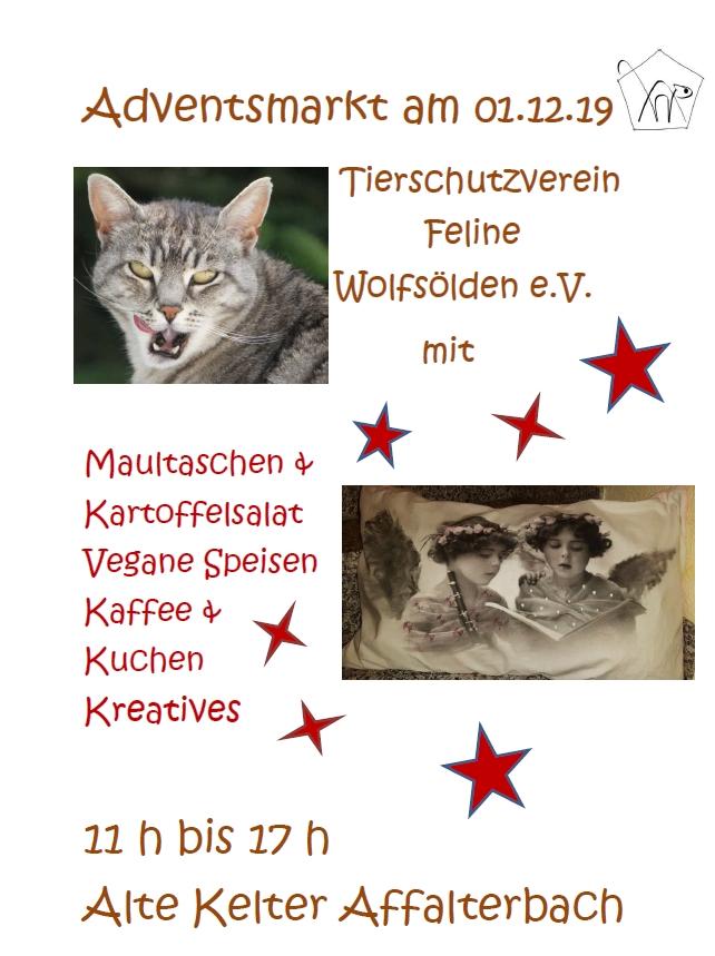 Adventsmarkt Affalterbach am 1.12.19
